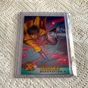 Jubilee '95 Fleer Ultra X-Men Card